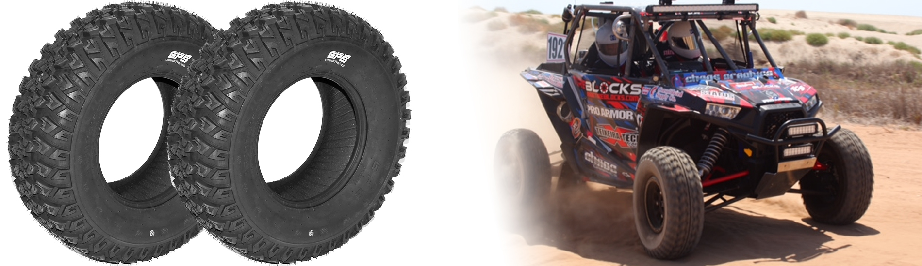 GPS RADIAL 30″ DOT 8 PLY UTV TIRE