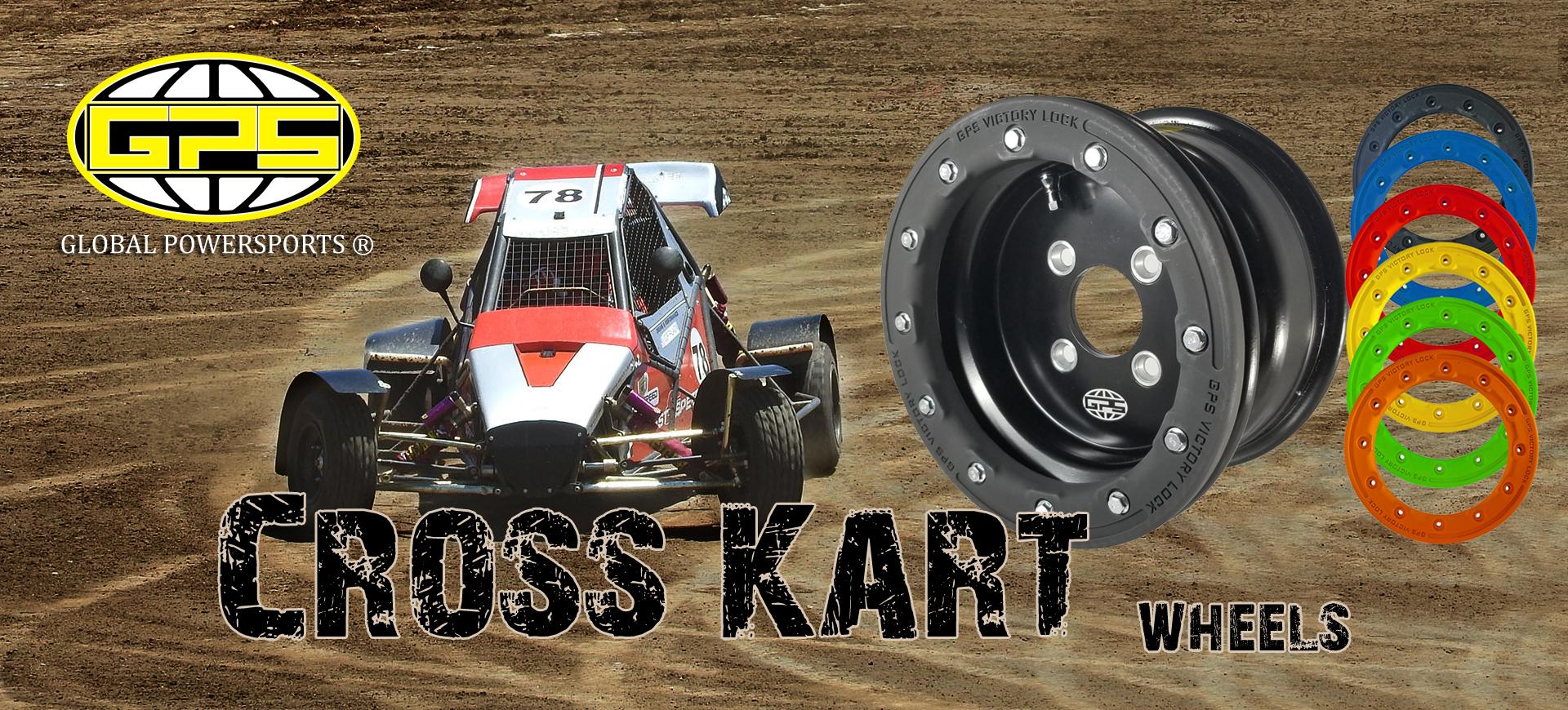 Roți GPS ATV Cross Kart